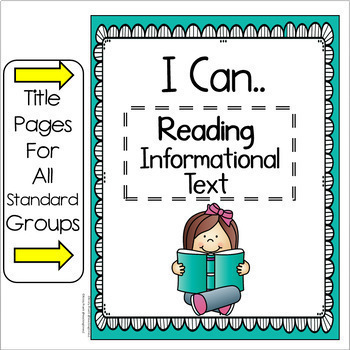 """Tennessee Standards 2017-2018 ELA-MATH-SCIENCE """" I Can"""" Posters- FIRST GRADE"""