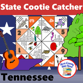 Tennessee State Facts and Symbols Cootie Catcher Distance