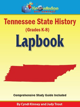 Tennessee State History Lapbook