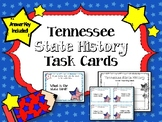 Tennessee State History.  Task Cards.  Answer Key Included!