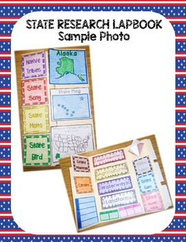 Tennessee State Research Lapbook Interactive Project