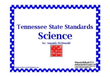 Tennessee State Science Standards