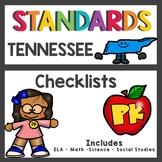 Tennessee State Standards Checklist Pre K