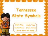 Tennessee State Symbols: Flipchart & Worksheets