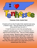Tennessee State Symbols Student Book