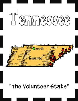 Tennessee State Symbols and Research Packet