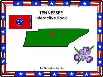 Tennessee State interactive book grades pre-k - 2nd: autism, social studies