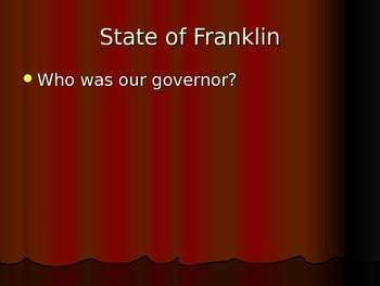 Tennessee Statehood and Famous Tennesseeans
