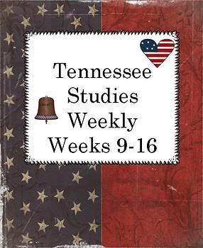 Tennessee Studies Weekly Cloze Passages Weeks 9-16
