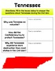 Tennessee Through Times Grade 5 Ch. 2 Interactive Notebook