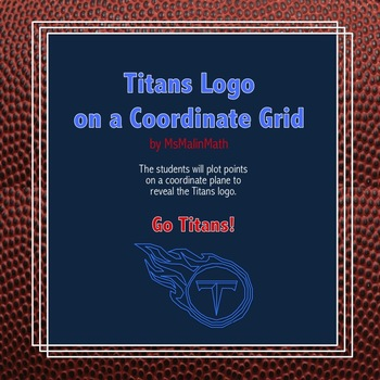 Tennessee Titans Logo on the Coordinate Plane