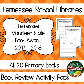 Tennessee Volunteer Book Award 2017 - 2018 Book Review Act