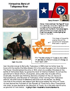 Tennessee and the War of 1812: Jackson, Volunteers, Sam Houston, Horseshoe Bend