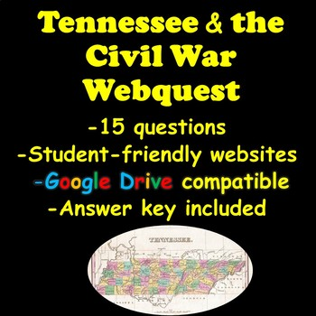 Tennessee and the Civil War Webquest