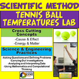 Tennis Ball Temperatures Lab: Scientific Method Science Skills Variables