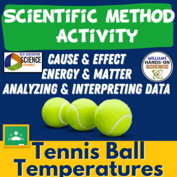 Tennis Ball Temperatures Scientific Method Lab