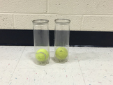 Tennis Ball and Cup