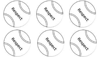 Tennis Ball brag tags