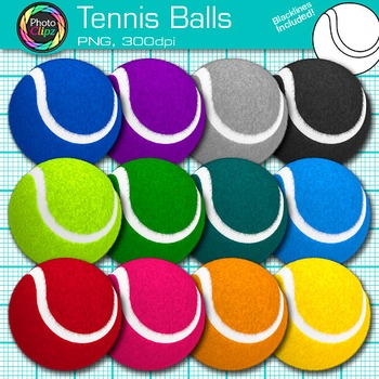 Tennis Balls Clip Art - Physical Education - Sports Clipar