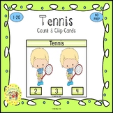 Tennis Clip Task Cards