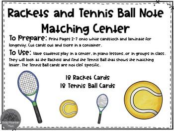 Tennis Pitch Matching Center