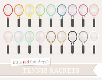 Tennis Racket Clipart; Sports, Equipment