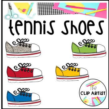 Tennis Shoes Clip Art