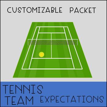 Tennis Team Expectations