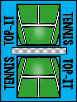 Tennis Top It-- Two-Digit Addition with regrouping game