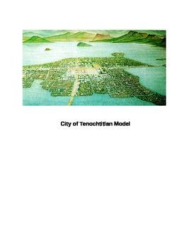Tenochtitlan Aztec Achievements Model