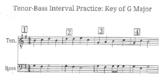 Tenor-Bass Interval Practice!