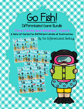 Tens Facts and Related Subtraction Facts Go Fish!