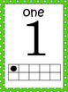 Tens Frame Mini Posters 0-20