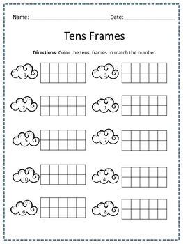 Tens Frame Activities