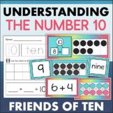 Ten Frames and Number Bond Activities for Making 10 Kindergarten Math