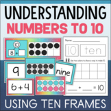 Ten Frames and Number Bonds - Making 10 Activities for Kindergarten