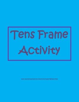 Tens Frame Activity