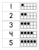 Tens Frame Cards / Tens Frame Concentration