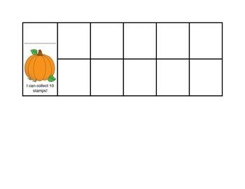A Behavior/Rewards/Class Dojo Tens Frame Card Set
