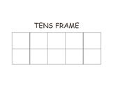 Tens Frame Chart