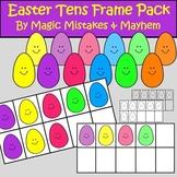 Tens Frame Clip Art- Easter Theme {MMM Clipart}