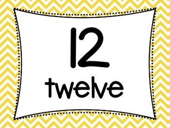 Tens Frame Flash Cards to 20