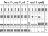 Math Font - Tens Frame