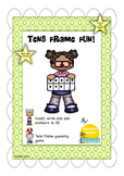 Counting and Addition Ten Frame Printable Fun!