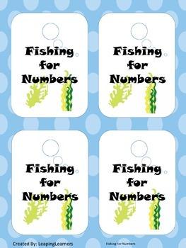 Tens Frame Go Fish