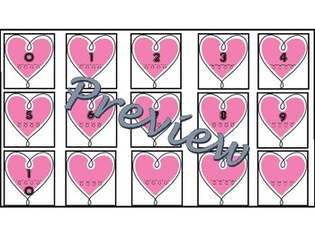 Tens Frame Heart Game (Valentine's Day Theme)