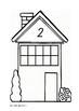 Tens Frame Houses 0-10