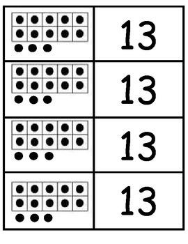 Tens Frame Match