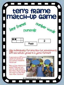 Ten's Frame Match-Up