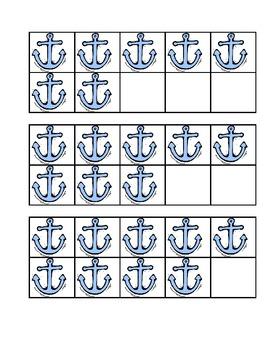 Tens Frame Matching